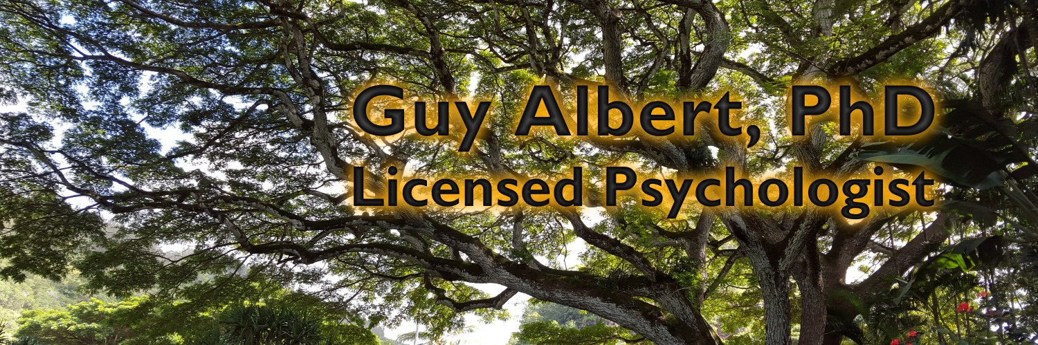 Guy Albert, Jungian Psychologist, Therapy for Depression, Anxiety, and more.